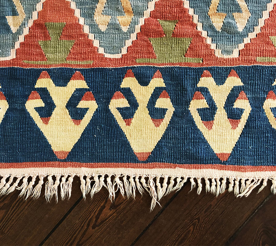 The Rug Gallery Worn Fringes