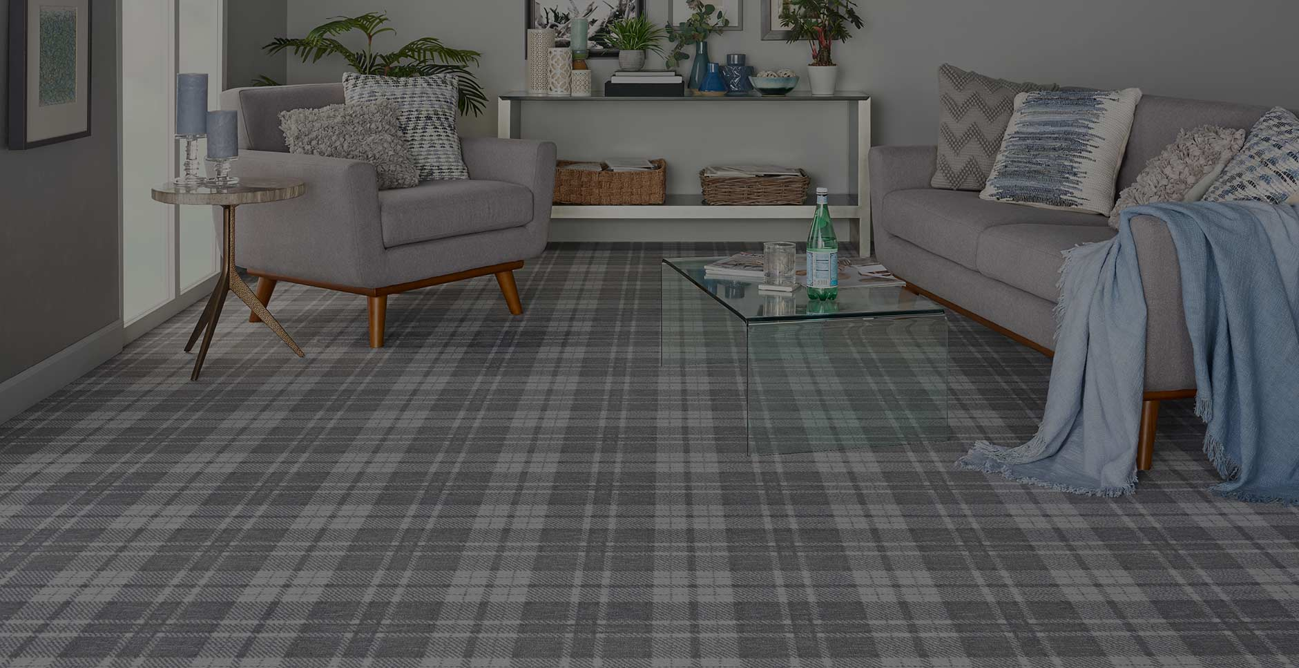 The Rug Gallery Plaid Carpet